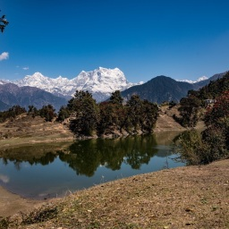 Blue Sky, Lush Green, Fresh Chilled Air – Huge snow fall. Tunganath trek.