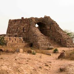 Tughlakabad Fort, ruins, Delhi