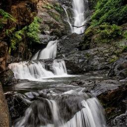 Unchalli Water Fall, Yana Rocks and Vibhuti Water fall.
